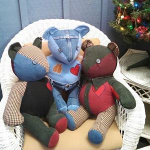 Multi Fabric Bears